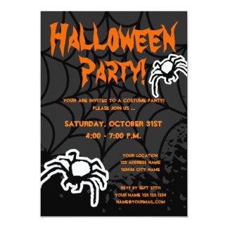 Inbjudningar för Halloween dräktparty med