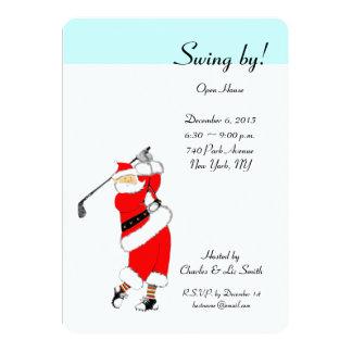 Inbjudningar för hus för julhelgdag öppna