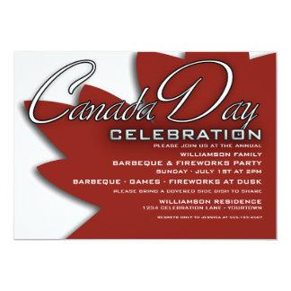 Inbjudningar för Kanada dagfirande