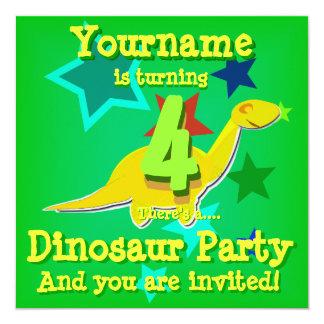 Inbjudningar för party för 4e