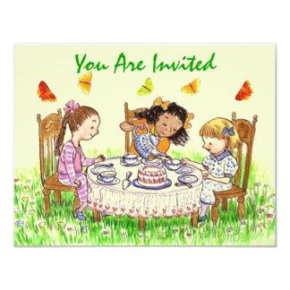 Inbjudningar för party för flicka- &