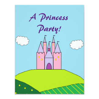 """Inbjudningar """"för Princess Festa"""""""