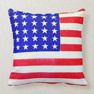 Inbördeskrigamerikanska flaggan 1865 kuddar