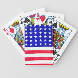 Inbördeskrigamerikanska flaggan 1865 kortlek