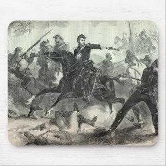 Inbördeskrigkavalleri anfaller musmatta