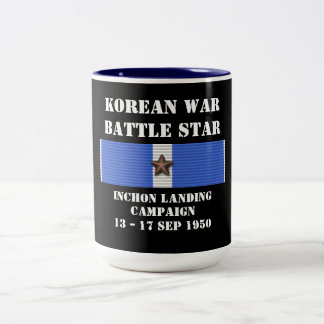 Inchon landningkampanj Två-Tonad mugg