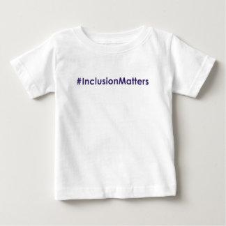 #InclusionMattersspädbarnt-skjorta T-shirt