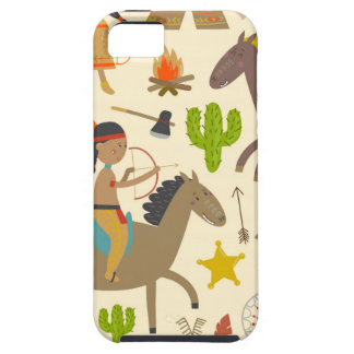 Indian and cowboy.jpg iPhone 5 Case-Mate cases