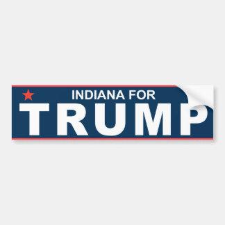 Indiana för trumf 2016 bildekal
