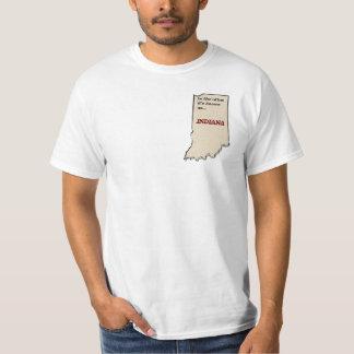 Indiana: Gud land Tee Shirt