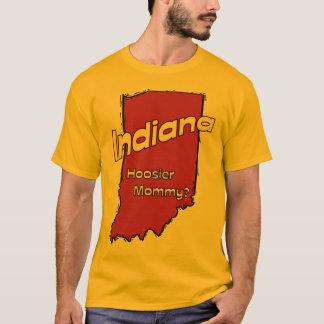 Indiana I mammor för Hoosier för US-Motto~ T-shirt