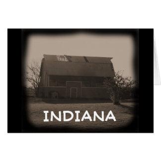 Indiana ladugård hälsningskort