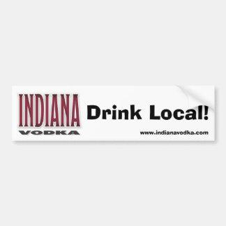 Indiana Vodka - drinklokalbildekal Bildekal