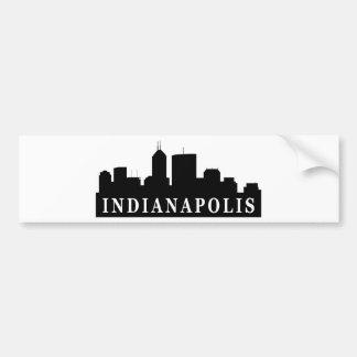 Indianapolis horisont bildekal