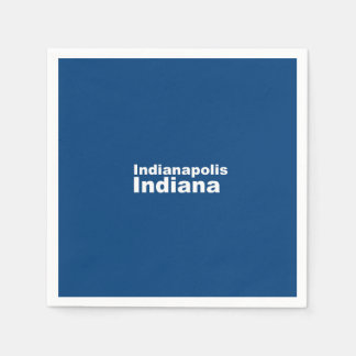 Indianapolis Indiana pappra servetter