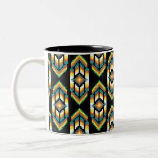 Indiandesign Midnight.png Två-Tonad Mugg