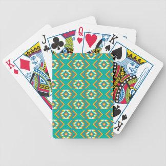 Indianen pryder med pärlor designmönster spelkort