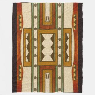 Indianmönster: Cheyenne design1860's Fleecefilt