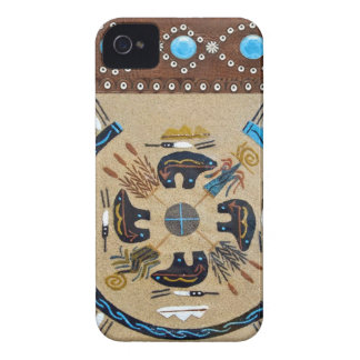 """IndianSandpainting"" Wes blackberry fodral"