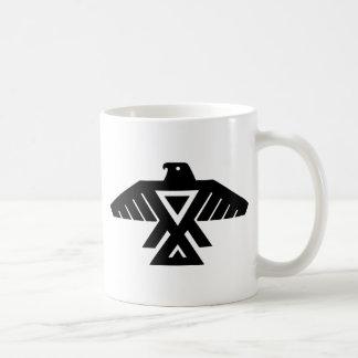 IndianThunderbirdTotem Kaffemugg