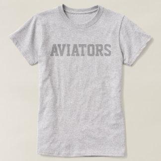"Indie flygare Co. ""Flygare"" kvartertryck T Shirts"