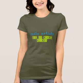 indie konstnärer t shirt