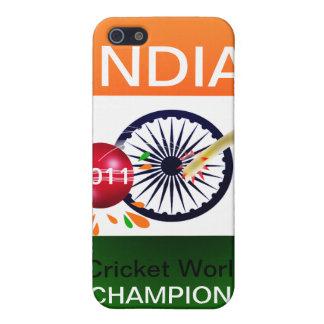 Indien 2011 vmIphone 4 för syrsa ICC fodral iPhone 5 Fodral