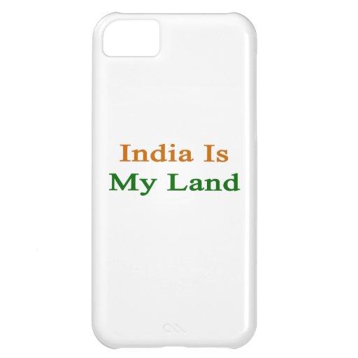 Indien är mitt land iPhone 5C skydd