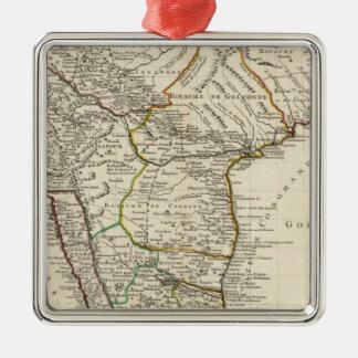 Indien Bangladesh, Asien Julgransprydnad Metall