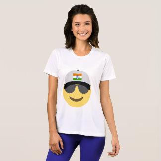 Indien Emoji baseballhatt Tshirts