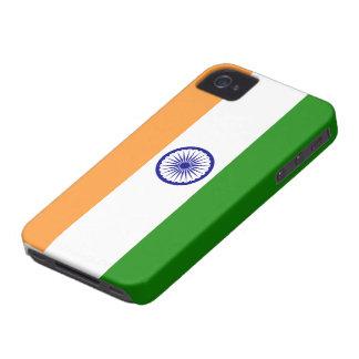 Indien flagga Case-Mate iPhone 4 skal