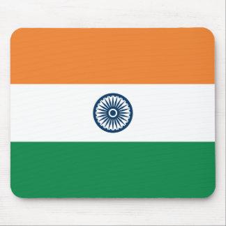 Indien flagga Mousepad Musmatta