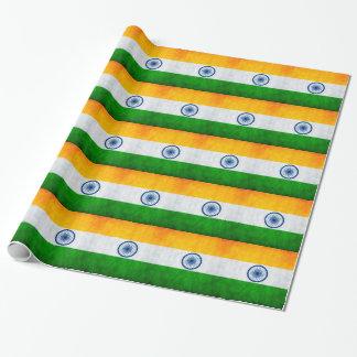 Indien flagga presentpapper