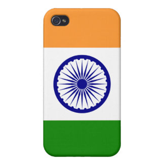Indien flaggaiPhone iPhone 4 Cover
