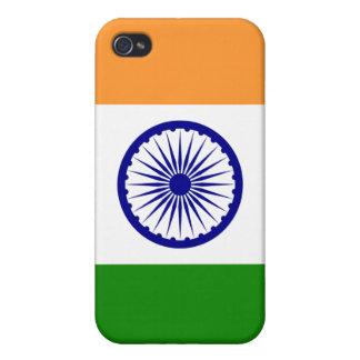 Indien flaggaiPhone iPhone 4 Skal