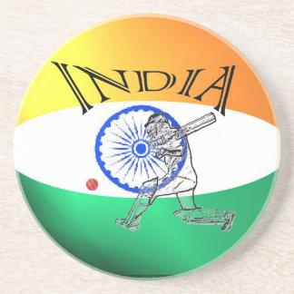 Indien flaggasyrsa underlägg sandsten