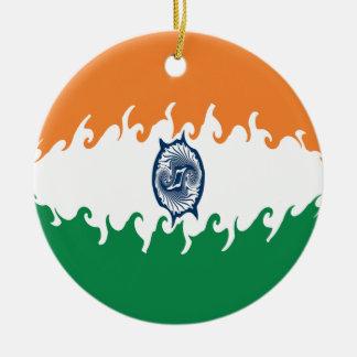 Indien Gnarly flagga Julgranskulor