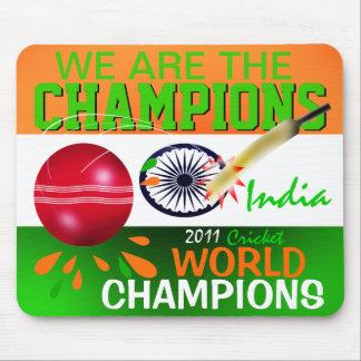Indien ICC är vi mästaresyrsan Mousepad Musmatta