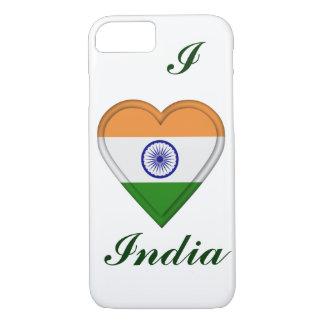 Indien indisk flagga