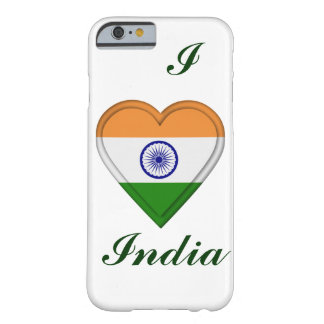 Indien indisk flagga barely there iPhone 6 skal