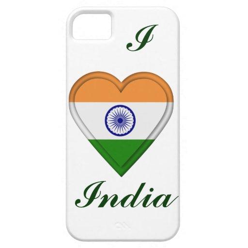 Indien indisk flagga iPhone 5 Case-Mate fodraler