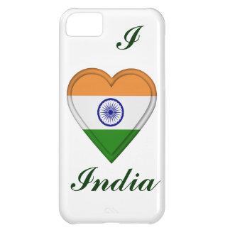 Indien indisk flagga iPhone 5C mobil skal