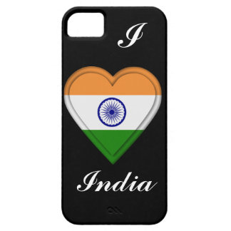 Indien indisk flagga iPhone 5 fodraler
