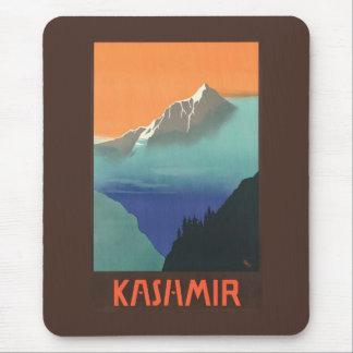 Indien (Kashmir) reser affischmousepad Musmatta