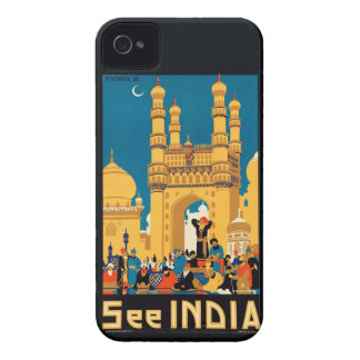 Indien reser affischiphone case iPhone 4 Case-Mate fodral