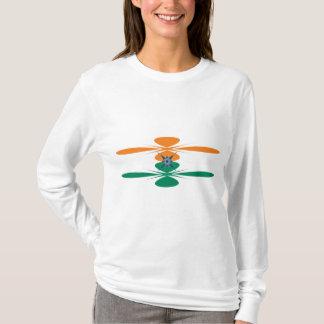 Indien t-skjorta t-shirt