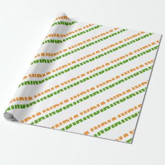 INDIEN textflagga Presentpapper