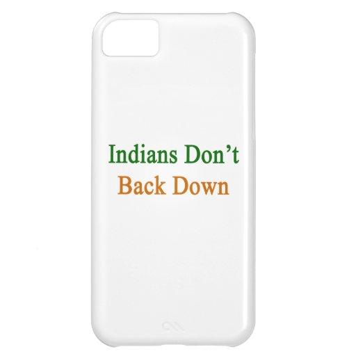 Indier drar tillbaka inte besegrar iPhone 5C skal