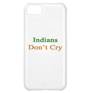 Indier gråter inte iPhone 5C skydd