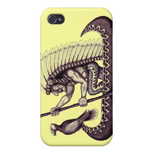 Indier med iphone case för örngrafikcoola iPhone 4 cover